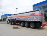 35000-50000 Liters Fuel Tank Semi Trailer Manufacture Tongya 3 Axles Crude Oil Tanker Truck