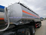 Suizhou Chengli 12000gallon 45.5cbm Chemical Truck Semi-Trailer Fuel Tank Trailer