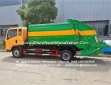 HOWO 4X2 4m3 Compactor Garbage Truck Price 6 Wheel Compressed Rubbish Collection Truck