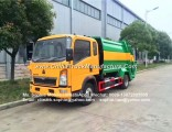 China Manufacturer Sinotruk HOWO Rear Loaded LHD 4X2 4m3 Refuse Collection New Dump Garbage Compacto