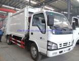 5cbm Japan Isuzu Hydraulic System Waste Management Garbage Compactor Truck