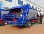 Dongfeng 4X2 Small Waste Collector Compressed 6m3 Compactor Compress Garbage Truck