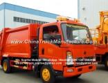 Factory Price Sinotruk HOWO 4000kg Hydraulic Garbage Compactor Truck