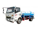 Rhd HOWO 4X2 6000 Liters Water Tank Transport Bower Spray Delivery Truck From Chengli Factory