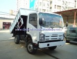 White Color 4X2 Isuzu Japan Dump Truck Ghana Tipper Truck Sale