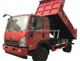 Clw Supply Rhd Tipper Dump Truck 4X2 Light Dump Truck HOWO Dumper for Sale