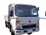 Good Price 6wheels 4X2 HOWO 5t Dump Tipper Truck with Good Quality