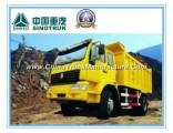 266HP HOWO 4X2 Mining Tipper Truck 25 Ton