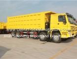 371HP Sinotruk HOWO 8X4 Dump Truck 12wheels