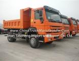 266HP Sinotruk HOWO 4X2 Dump Truck 6wheels