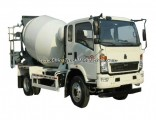 180HP 4X2 Sinotruk HOWO 4m3 Concrete Mixer Truck
