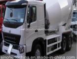 Sinotruk HOWO A7 10m3 6X4 Concrete Mixer Truck 10 Wheeler