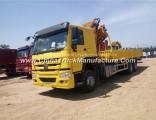 Reasonable Price Sinotruk HOWO Truck Mounted Crane