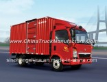 Sinotruk HOWO 141HP 5t Light Van Box Truck for Sale