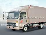 8t Sinotruk HOWO 154HP Light Van Box Truck Lorry Truck