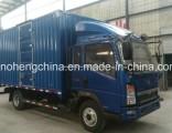 HOWO 7 Ton Box Cargo Truck / Lorry Truck
