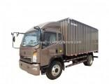 Sinotruk HOWO Cargo Truck Price 5 Ton Van Truck
