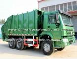 HOWO 6X4 Garbage Truck 16m3 Compressor Garbage Truck