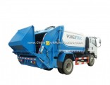 HOWO Waste Collection Compactor Garbage Truck 6-9 Cubic Compactor Garbage Truck