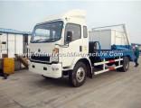 Sinotruk HOWO 6m3 Swing Garbage Truck 4X2 Garbage Truck