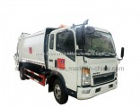 Sinotruk HOWO 16 Cubic Meter Refuse Waste Container Hook Lift Garbage Truck for Sale