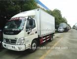 Hot Sale Foton 4X2 Freezer Cargo Van 5tons Small Refrigerator Truck