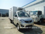 Hot Selling Foton 1-2tons Freezer Van Truck/4X2 Mini Refrigerator Truck