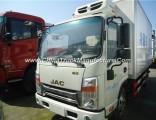 120HP 5tons Refrigerated Van Freezer Truck
