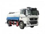 120HP 4X2 Sinotruk HOWO 9000L Water Truck