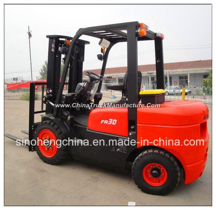 Sh30fr 3 Ton Lift Equipment Diesel Engine Forklift Truck