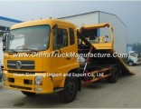 Dongfeng Tianjin Flatbed Towing Truck 4X2/180HP Road Wrecker