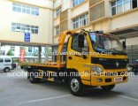 Foton 129HP Flatbed Wrecker Towing Truck/4X2 Wrecker for Factory Price