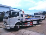 DFAC 130HP Flatbed Wrecker Towing Truck/4X2 Wrecker for Factory Price