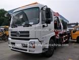 Cheap Price 180HP Dongfeng Tianjin 4X2 Wrecker Truck with Crane