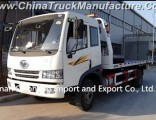 FAW 124HP Flatbed Tow Truck /4X2 Wrecker for Factory Price