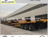 30-50ton 3 Axle 40FT Container Flatbed Semi Trailer