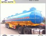 3/4 Axle Oil Tanker Tank Semi Truck Trailer for Gasoline/Fuel Transport