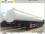 3 Axle 45000L Fuel Tank / Acid Tanker Truck Semi Trailer /Oil Fuel Tanker Semi Trailer