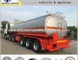 3 Axle 45000 Liters Oil Tanker 40 to 45 Cbm Fuel Tank Semi Trailer