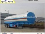 Q345b Carbon Steel Tanker/Tank Semi Trailer Used for Transporting Fuel/Oil