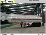 Tri-Axle 4 Axle Fuel Tanker Fuel Oil Tanker Trailer Oil Tank Semi Truck Trailer