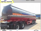 40000L 3 Axle Carbon Steel Petrol/Diesel/Oil/Fuel Tank Semi Trailer