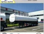 Tri-Axle 45000L Oil Tanker Semi Trailer 42m3 Fuel Tanker Truck Trailer