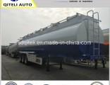 40m3 Tri Axles Oil Tank Semitrailer 40000L Fuel Tanker Trailer