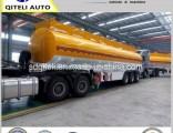 Tri-Axle 45000liters Oil Fuel Diesel Tank Semi Trailer for Sale