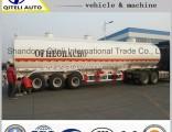 3 Axle 65cbm Carbon Steel Fuel Tank Trailer/Oil/Gasoline/Diesel Tanker Semi Trailer