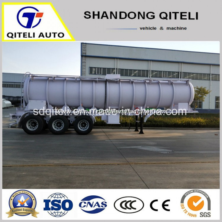 3 Axle Fuel Tanker Oil Diesel Tank Acid Transport Semi Tank Trailer
