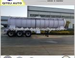 60000L/70000L/80000L Big Volume Oil Tank Semi Trailer with Warhouse/Room/Compartment