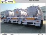 42000 Liters Diesel Oil Fuel Tanker Liquid Tank Semi Trailer