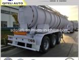 3 Axles 40000L Crude Oil Carbon Steel Semi Tank Trailer Price